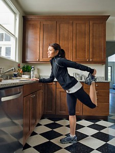 how to stay fit at home
